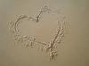 1364014 heart draw in the beach sand  Jika Pembuluh Darah Jantung Tersumbat