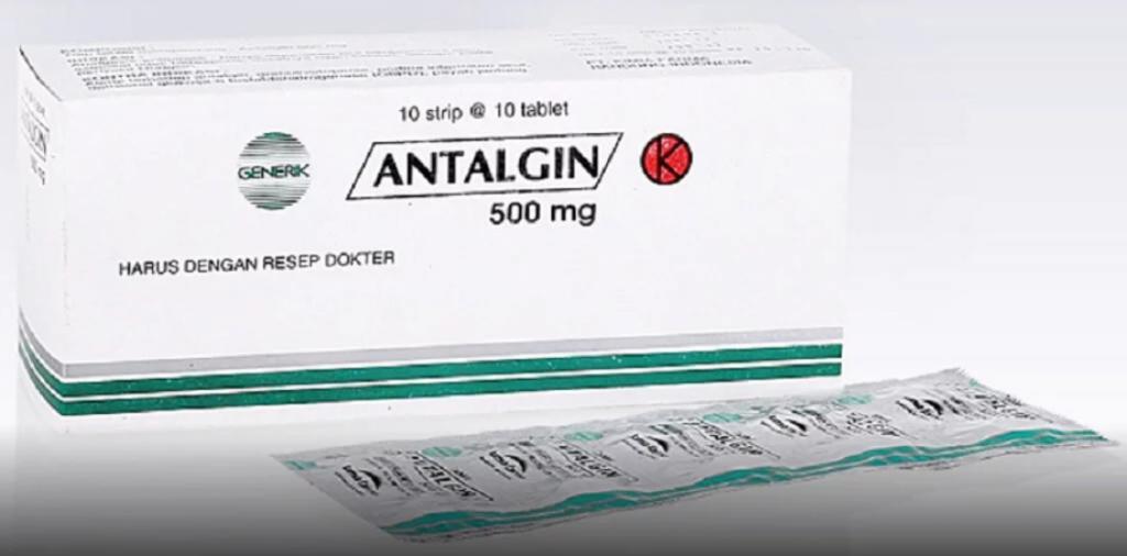 Antalgin (Metampiron) – Dosis, Indikasi, Efek Samping dan Peringatan