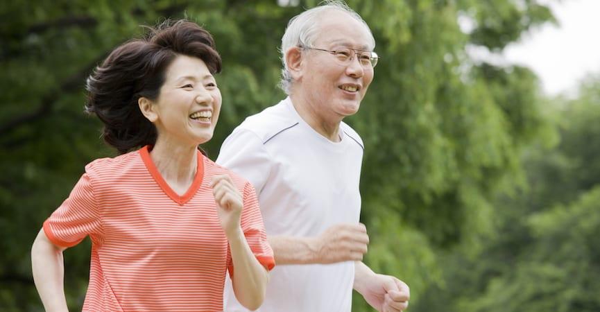 orang tua sehat