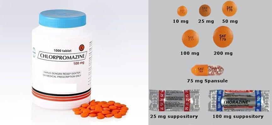 Chlorpromazine – Overdosis