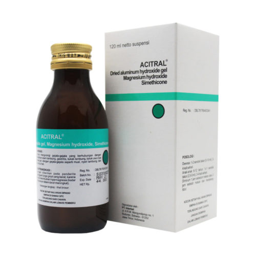 Acitral Sirup 120 Ml