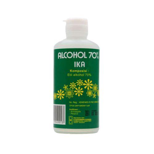 Alkohol 70% Ika 100 Ml