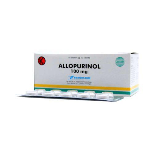Allopurinol 100 Mg Tab Berno