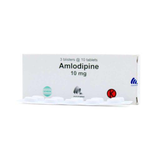 Amlodipine 10 Mg Tab IF