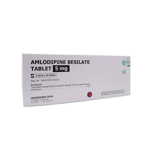 Amlodipine 5 Mg Tab Hexp