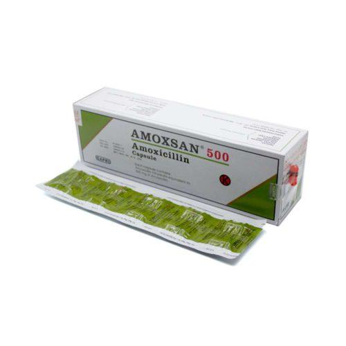 Amoxsan 500 Mg Kapsul