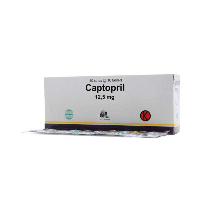Captopril 12,5mg Tab IF