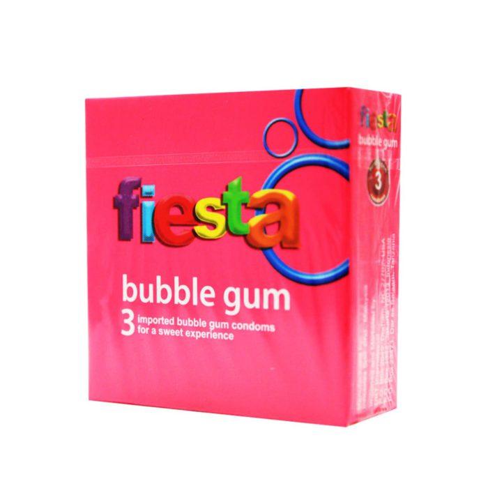 Fiesta Bubble Gum 3'S
