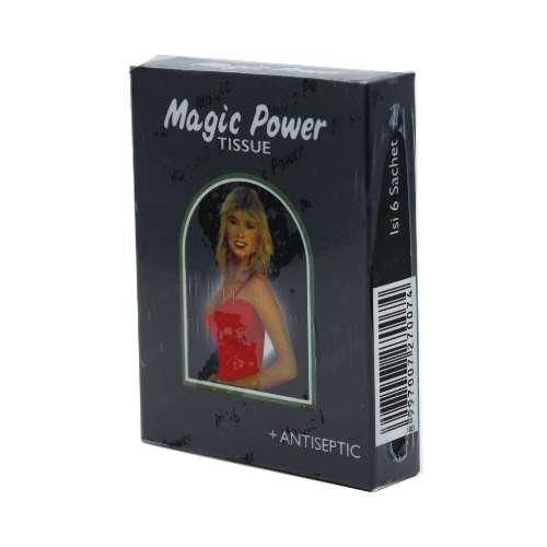 Magic Tissue Power Hitam