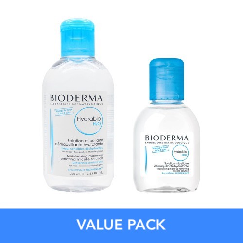 Value Pack Bioderma Hydrabio H2O 250 + 100 Ml