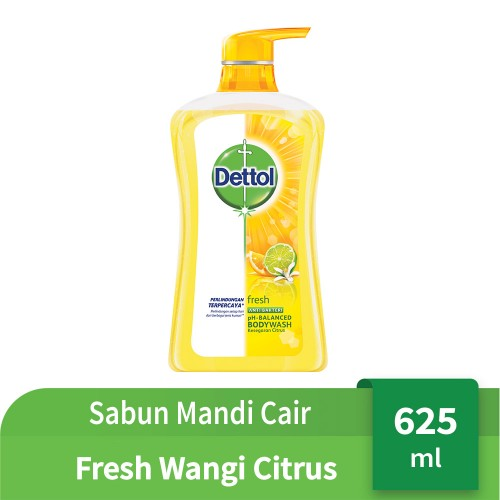 Dettol Body Wash Fresh Pump 625 Ml