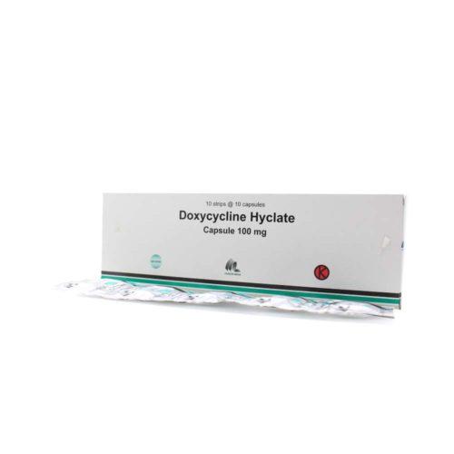 Doxycycline 100 Mg Kapsul IF