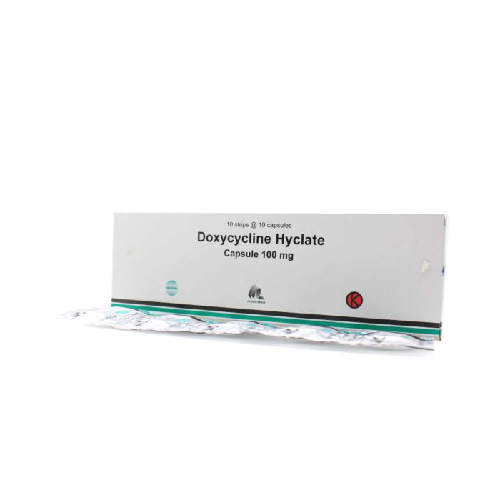Doxycycline 100 mg Kapsul IF