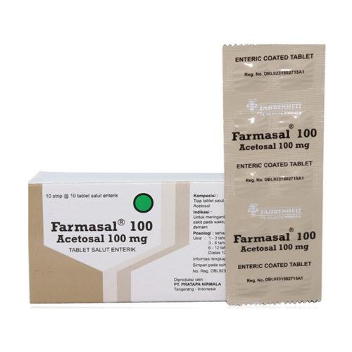 Farmasal 100 Tab 100'S
