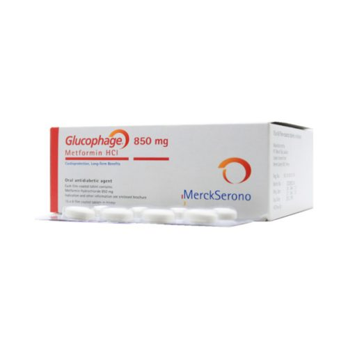 Glucophage 850 Mg Tab