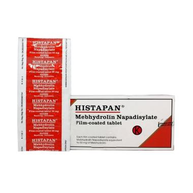 Histapan Film Coated Tablet