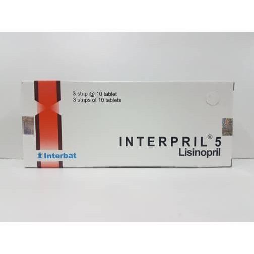 Interpril 5mg 30'S