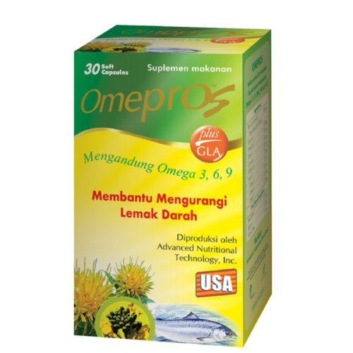Omepros Plus GLA Box 30'S