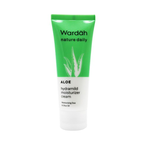 Wardah Nature Daily Aloe Hydramild Moisturizer Cream 40 Ml